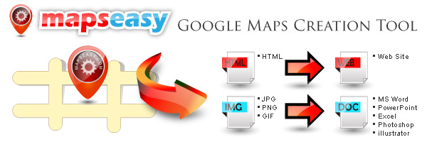 MapsEasy.com - Google Maps Creation Tool