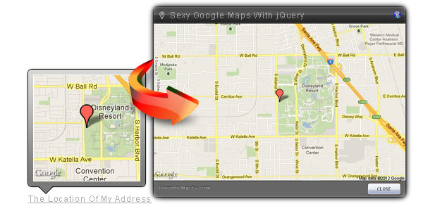 Sexy Google Maps With jQuery (Static Maps Version)